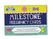 Set de 30 cartes 'souvenirs de grossesse' - Milestone