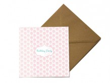 Carte d'invitation 'Fleurs' - MonkeyChoo