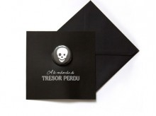 Carte d'invitation 'Pirate' - MonkeyChoo