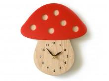 Horloge en bambou 'Champignon' - Decoylab