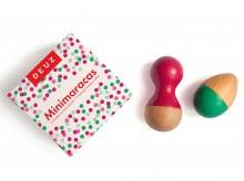 Hochets en bois mini maracas 'Lili' - Deuz