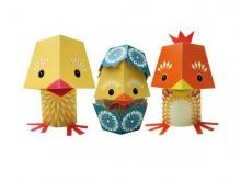 The Yolk Folk - jouets en papier