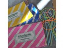 10 sachets papier rétro