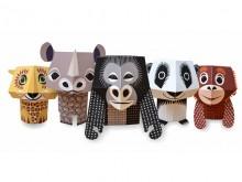 Forest Friends - jouets en papier
