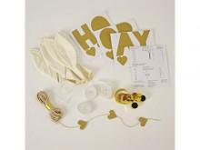 Décoration pour anniversaire : Kit de 8 Ballons blancs