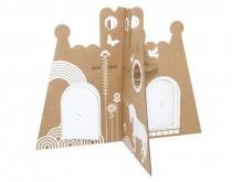 Château de pincesse en carton recyclé - Flatout Frankie