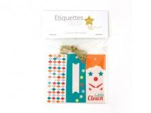 9 étiquettes Cadeaux Cirque - MonkeyChoo