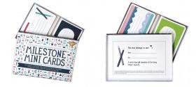 Set de 30 cartes illustrées - Milestone Baby Cards