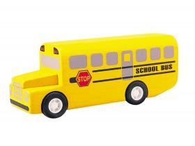 Jouet en bois : Bus scolaire - Plan Toy 4610